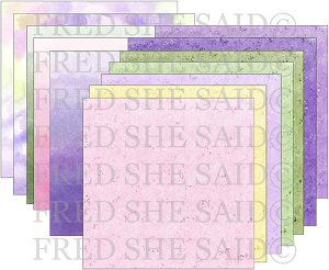 Digital Papers Watercolor Papers Purple & Pink [Digi4003FS]