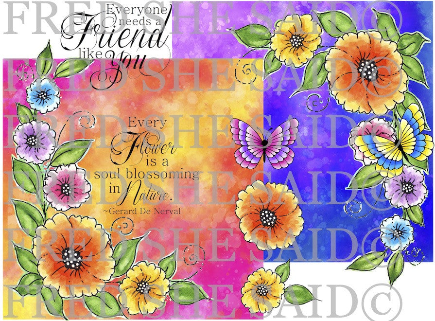 Corner Garden Digital Stamp Set-Bundle [Digi842FS]