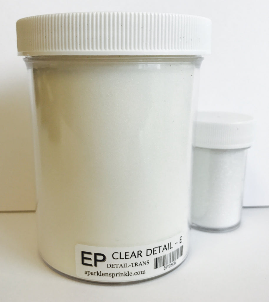 Embossing Powder Clear Detail, Economy, EP280E
