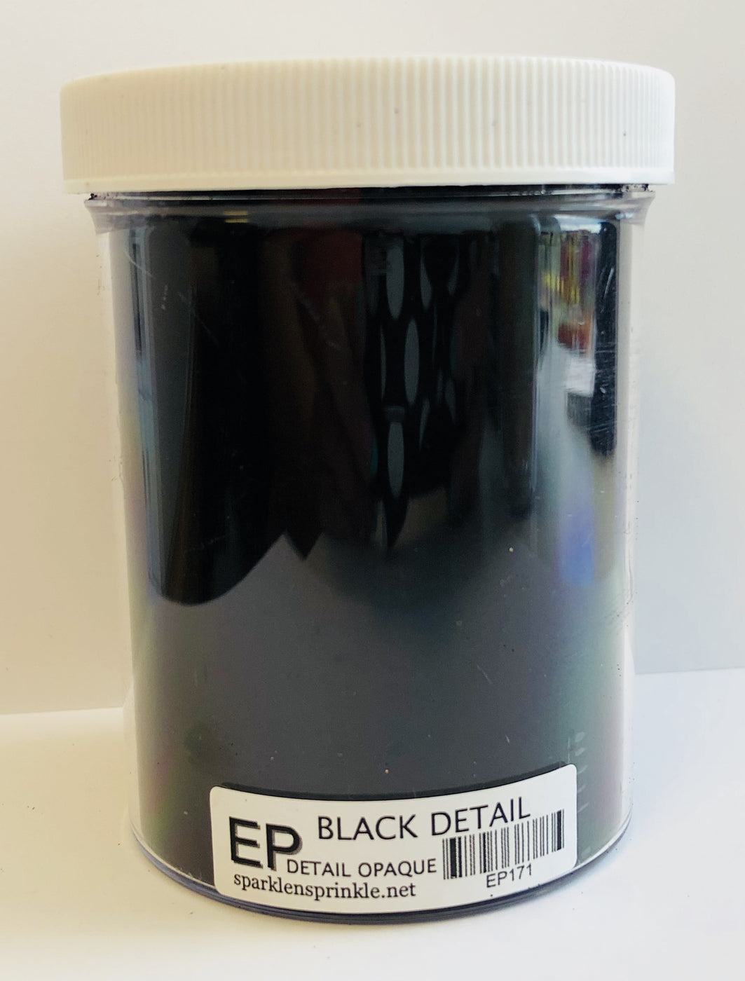 Embossing Powder Black Detail Economy Jar-6 oz., EP171E
