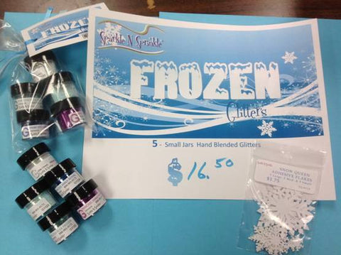 Frozen Glitter Set