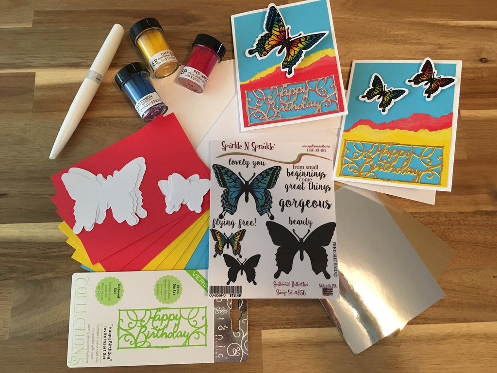 Birthday Butterflies June Video Kit Club V06-17