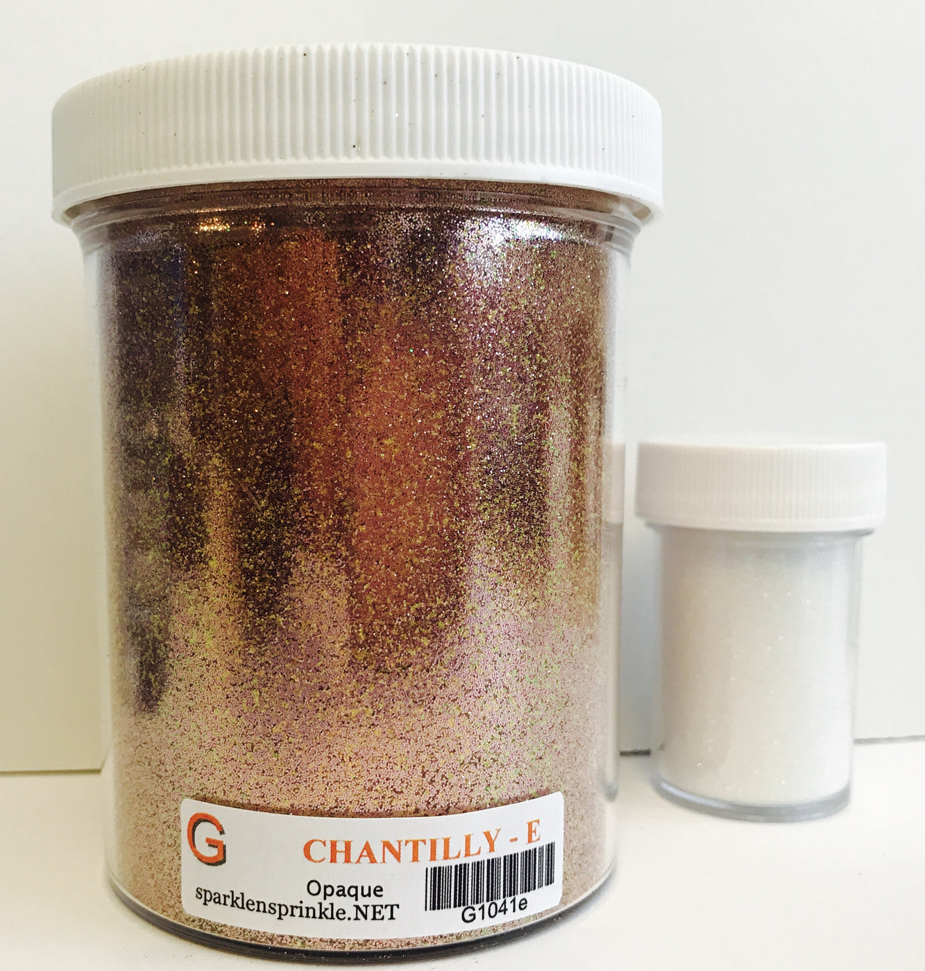 Ultrafine Glitter Chantilly Economy Jar-6 oz., G1041E