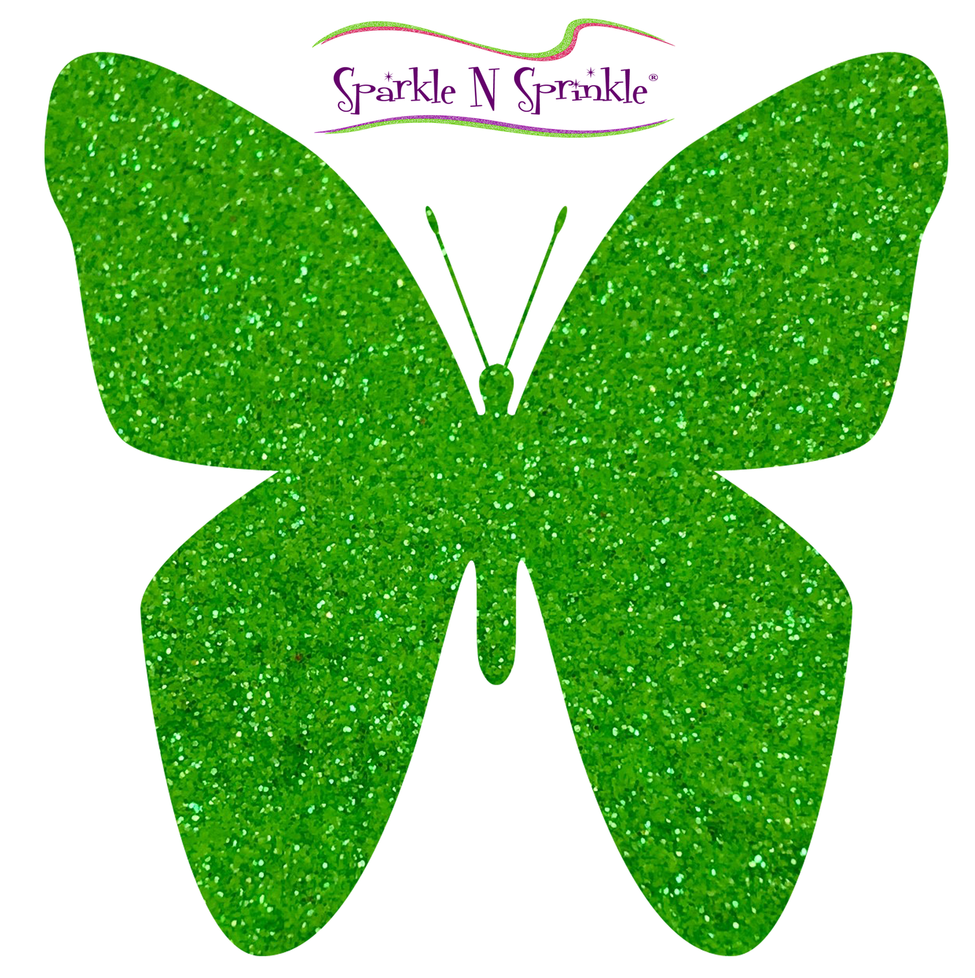 Ultrafine Glitter Spirited Green (Semi-Transparent) Glitter [G1070]