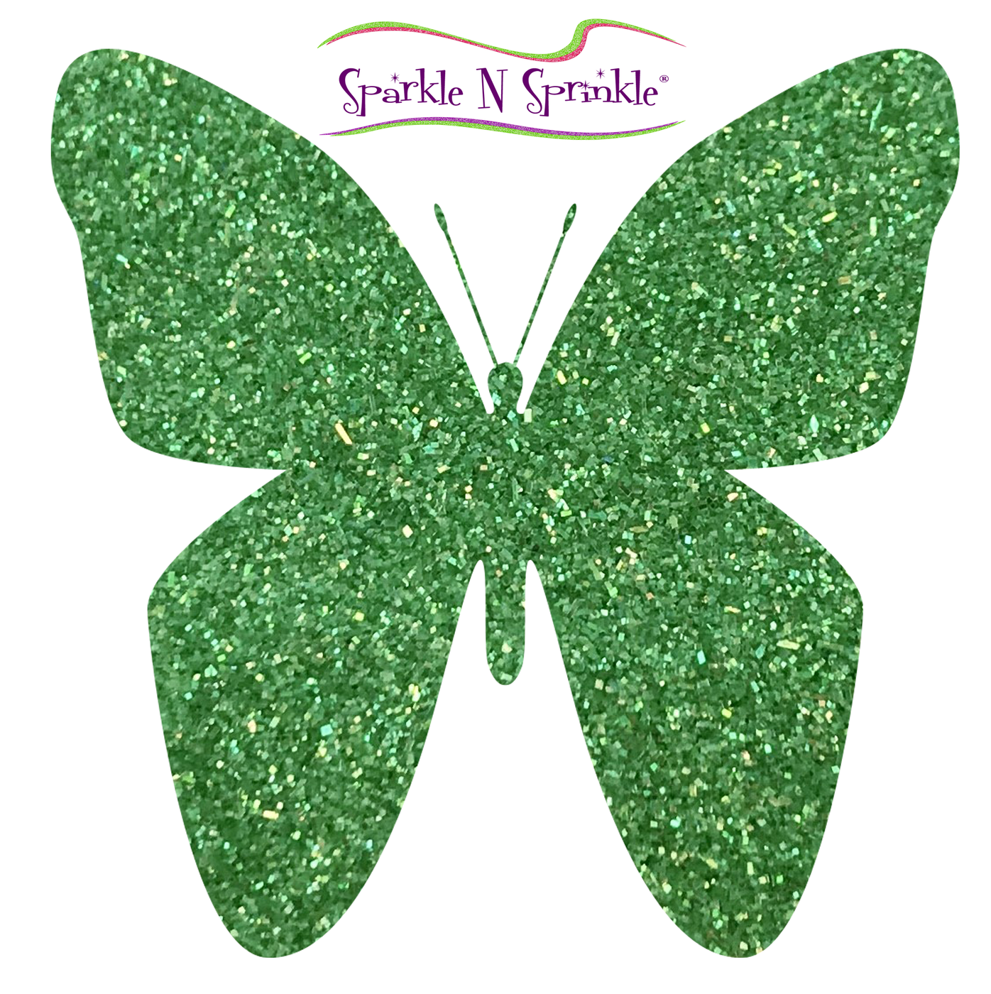 Ultrafine Glitter Easy Green Semi-Transparent Glitter [G1077]