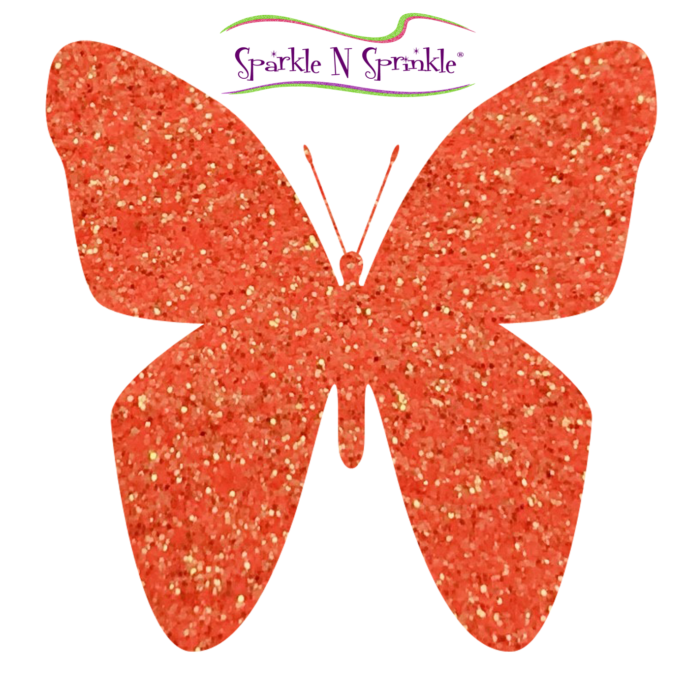 Ultrafine Glitter Orange Crush (Semi-transparent) [G1092]