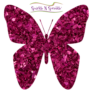Glass Glitter Fushia (Opaque) [GG16C]