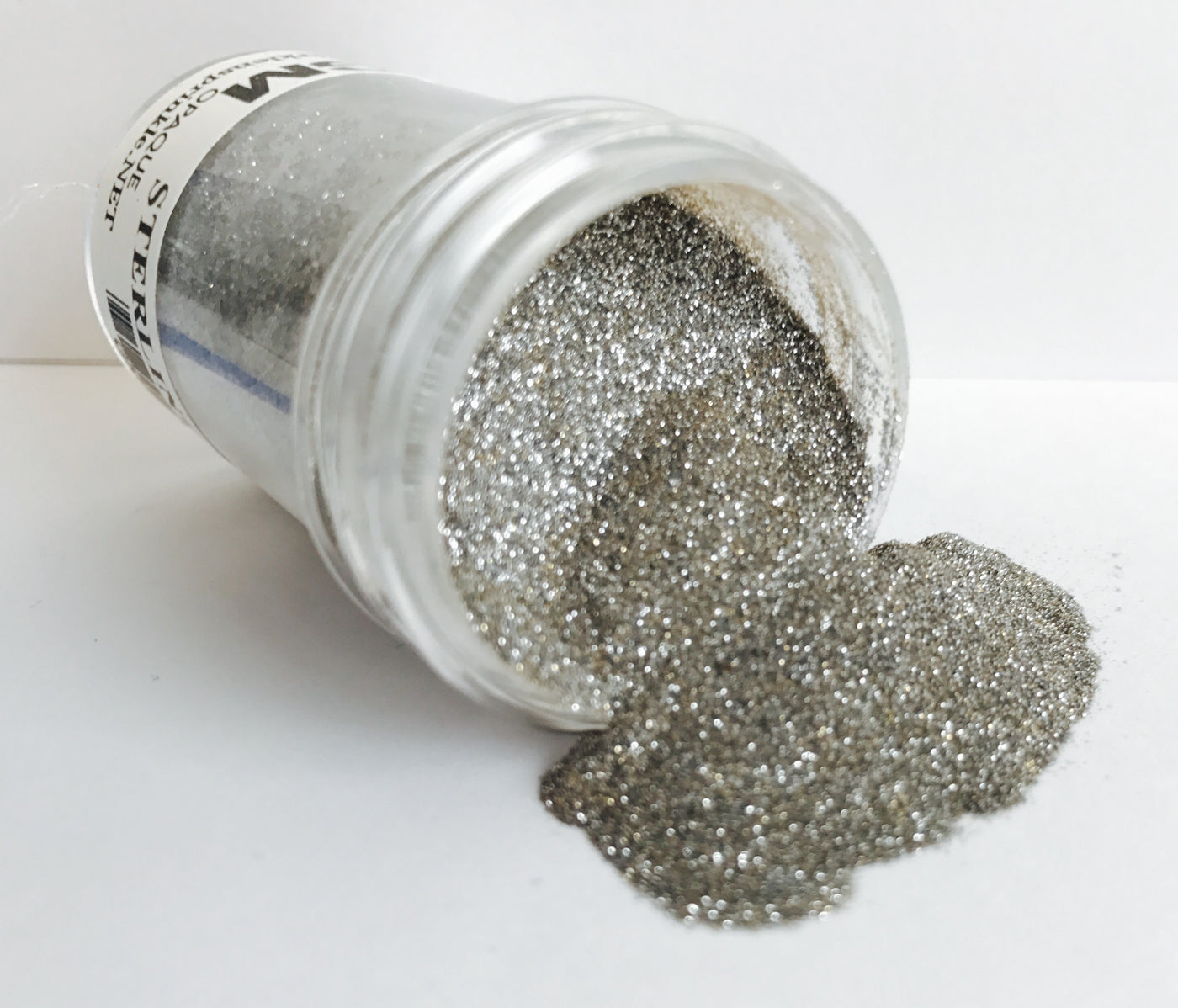 Microfine Glitter Sterling (Opaque) [GM2035]