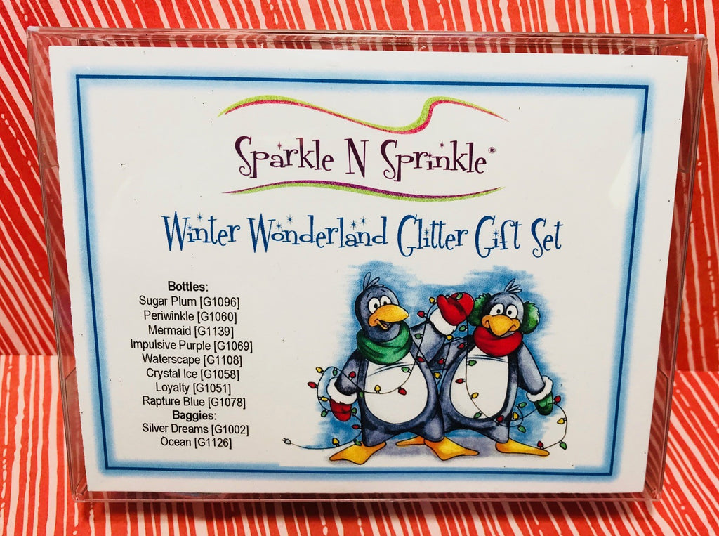 Gift Set Winter Wonderland Glitters, GS12