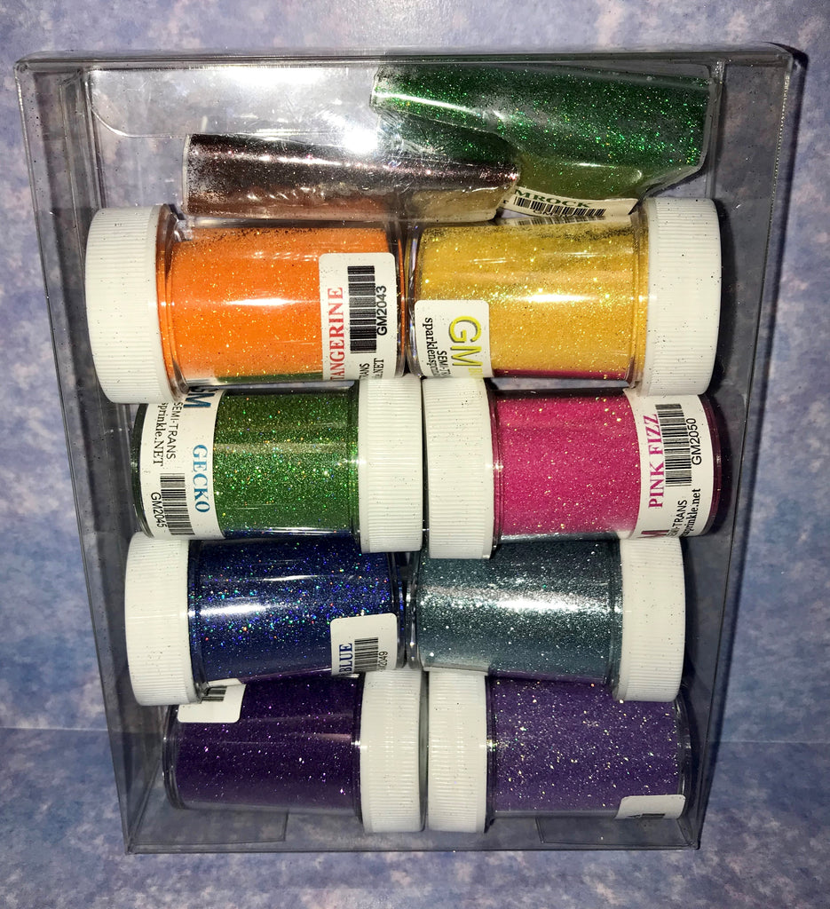 Gift Set New Release Microfine Glitters, GS13