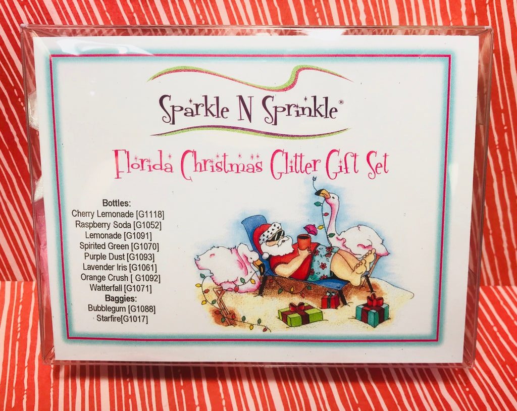 Gift Set Florida Christmas Glitters, GS3