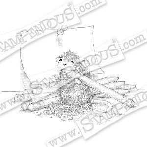 Pencil Sharpener Stampendous Rubber Stamp [HMCP77]