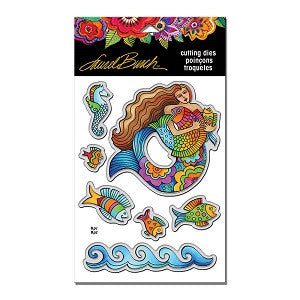 LB Mermaid Fish Stampendous Die Cut Set [LBDCS03]