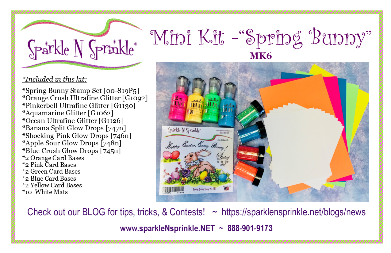 Mini Kit- Spring Bunny [MK6]