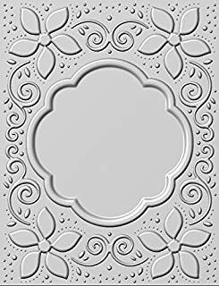 Natalie's Poinsettias Embossing Folder, EF3D-007