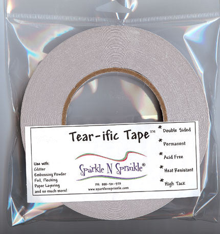 "1/8"" Double Sided ""Tear-ific"" Tape [SAT02]"