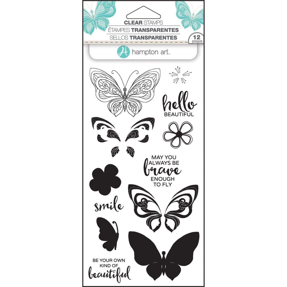 Layer Butterfly Hampton Art Stamp Set [SC0750]