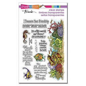 Nautical Treasure Stampendous Stamp Set [SSC1262]