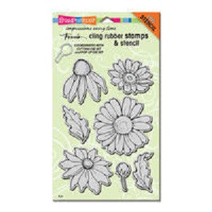 Daisy Mix Stampendous Rubber Stamp Set [CRS5082]