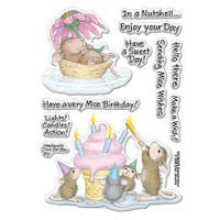 Mice Wishes Stampendous Rubber Stamp Set [SSCM5000]