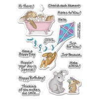 Hoppy Moments Rubber Stamp Set [SSCM5001]