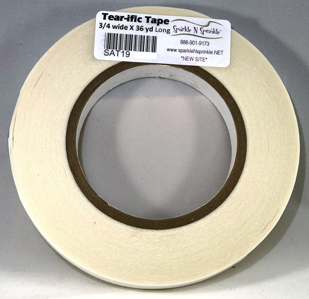 "3/4"" x 36 yds. Double Sided ""Tear-ific"" Tape [SAT19]"