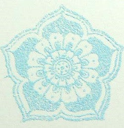Embossing Powder Sky Blue Spark (Semi-Transparent) [EP162]