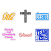 Christian Stickers 6 Pack | Aprojes
