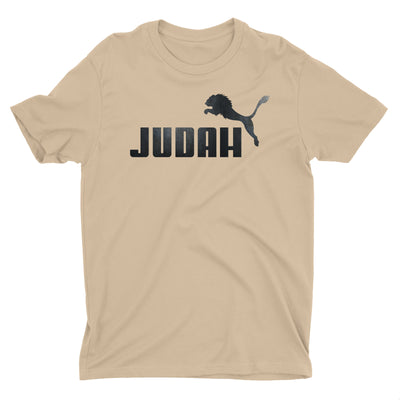 Lion Of Judah Israel Jesus God Christian T-Shirt for Men