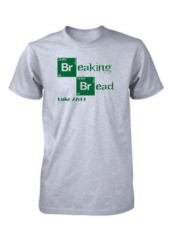 Jesus Breaking Bread Last Supper Easter Christian T-Shirt for Men