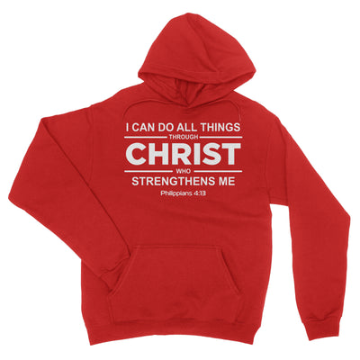 Philippians 4 13 Hoodie - I Can Do All Things Christian Sweatshirt