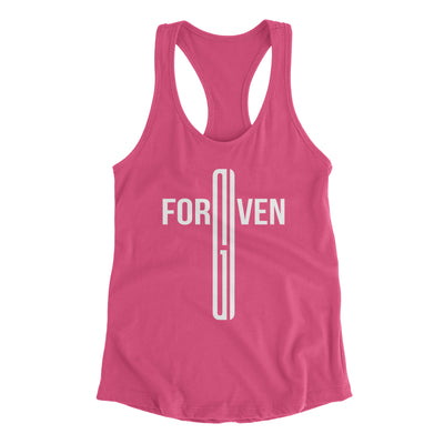 Forgiven Christian Tank Top for Women