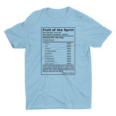 Fruit of the Spirit T Shirt for Men - Christian Tee
