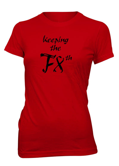 Keeping the Faith Jesus Christian T-shirt for Juniors