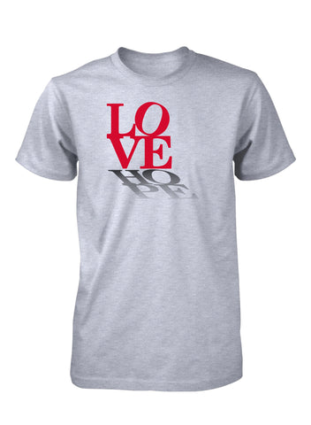 Love Hope Peace Positive Faith T-Shirt for Men