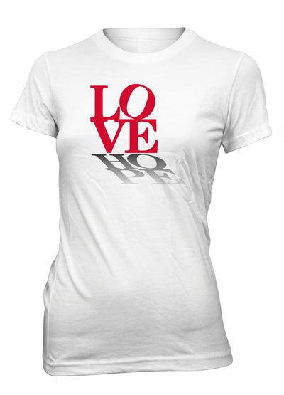 Love Hope Peace Positive Faith T-Shirt for Juniors