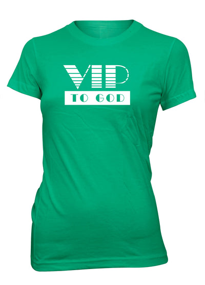 VIP To God Christian T-shirt for Juniors