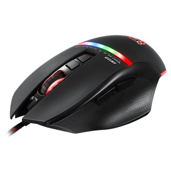 High Quality Motospeed Wired V10 USB LED Backlight Gaming Mouse With 7 Buttons Macro Support