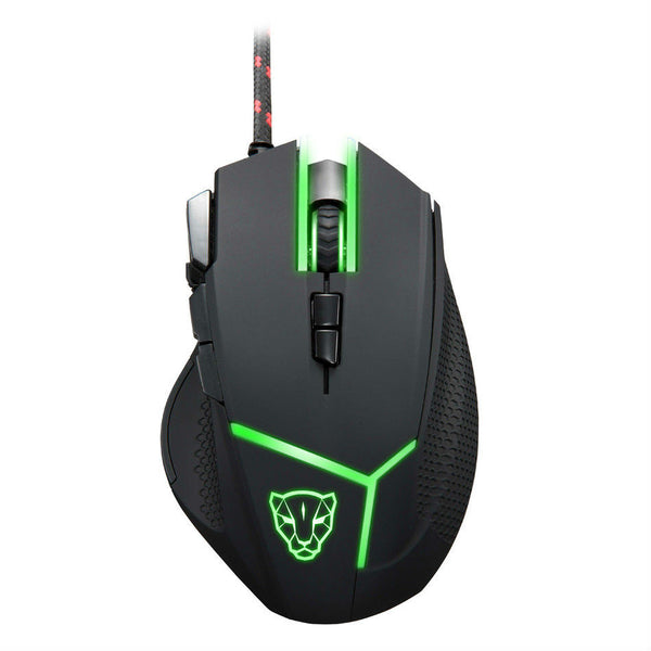 Original Motospeed V18 Optical High Speed Gaming Mouse 9 Button Programmable LED with Adjustable High Precision 4000DPI