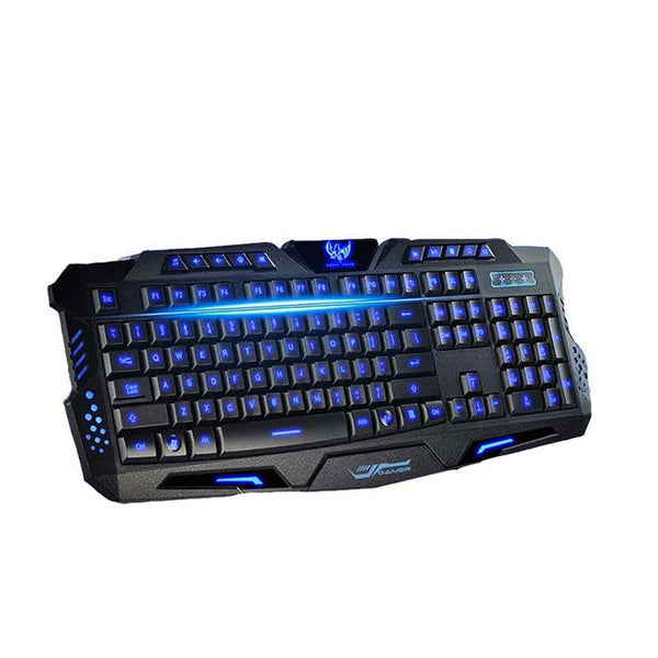M-200 Tri-color LED Backlight Gaming Keyboard