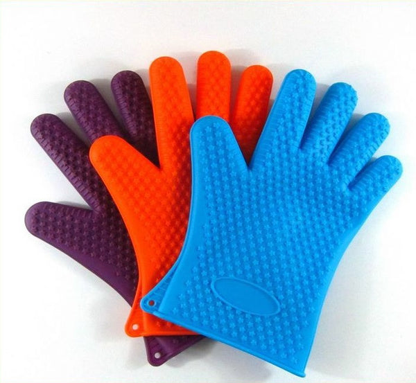 Lava Grips BBQ Grill Cooking Gloves - with FREE Bonus e-Book