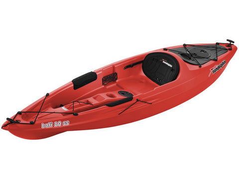 Red Colour 10' Kayak from Marine Store