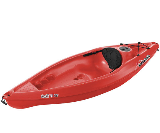 Red 8' Kayak from Marine Store