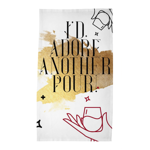 Adore Another Pour Tea / Bar Towel