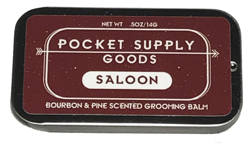 Bourbon & Pine Scented Grooming Balm