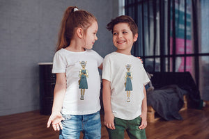 Deer Girl Kids Shirts Kids Tshirt Toddler Shirt