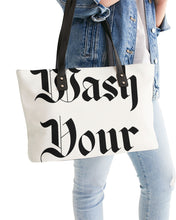Public Warning Stylish Tote