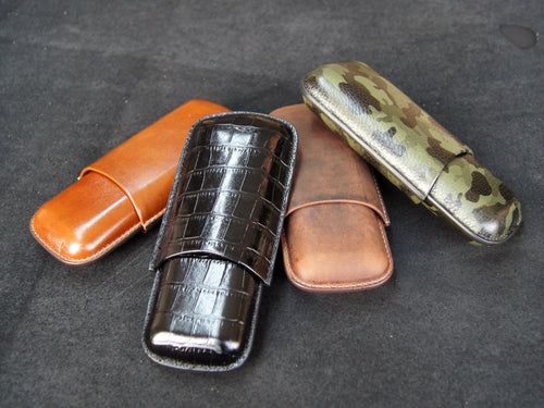 Cigar Case | Moulded Leather