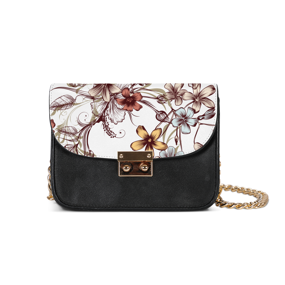 Flowers Small Shoulder Bag