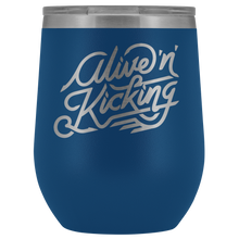 Alive and Kicking Wine Tumbler
